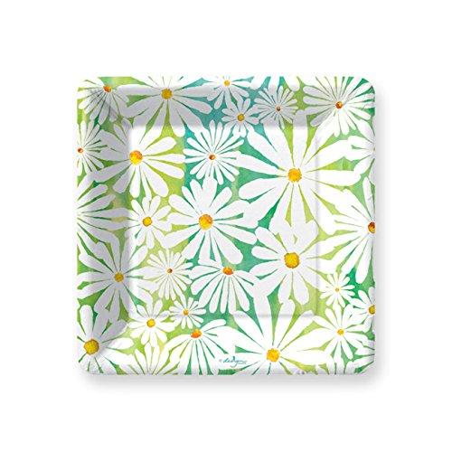 Daisy Design Paper (Daisy Garden Dessert Plate)