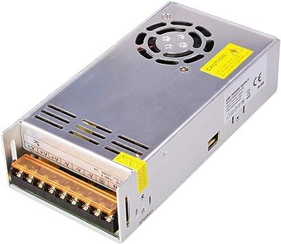 Dapenk Caja de Aluminio para interiore Fuente de alimentación PS 600W 12V para Tira de LED (PS600-H1V12): Amazon.es: Electrónica