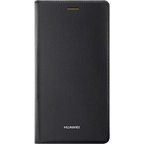 Huawei P8 Lite Flip Tasche schwarz