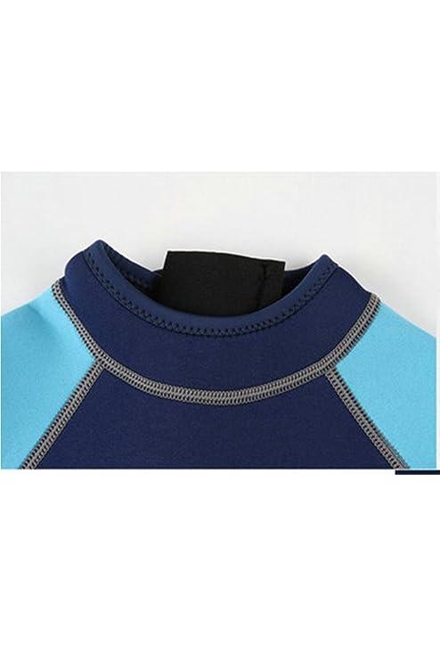 2470b9d2ed Amazon.com: Cokar Neoprene Wetsuit for Kids Boys Girls One Piece Swimsuit  (FBA): Clothing