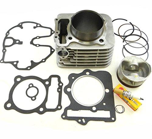 Cylinder Piston Gasket Top End Kit Set for 1999-2008 HONDA TRX400EX 400EX