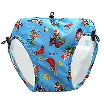 Acacia 33-48 LB Swim Diapers Waterproof Reusable Swim Diaper Baby Dress Pool for Kids