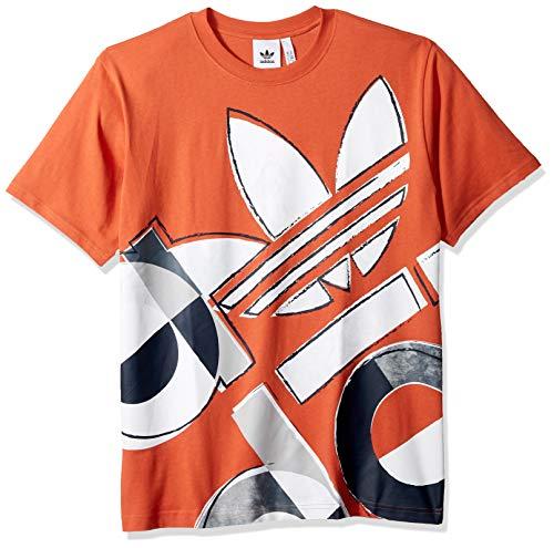 Adidas Graphic - adidas Originals Men's Bold Graphic Tee, raw Amber, Medium
