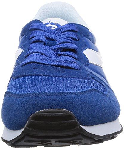 Diadora 501.159886, Zapatilla Unisex Adulto Azul / Blanco