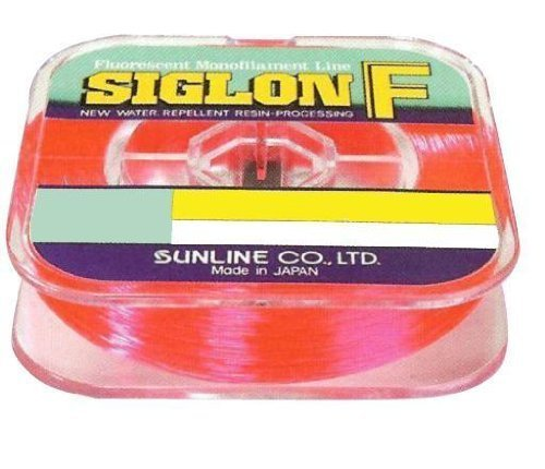 Sunline 63000590 Siglon F Fluorescent Pink 15 lb Fishing Line, Fluorescent Pink, 330 yd