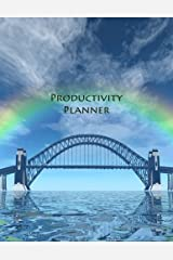 Productivity Planner: 365 Days-Daily Page-Be More Productive-Track Daily Priorities & Tasks-8.5x11 Desk Size Paperback