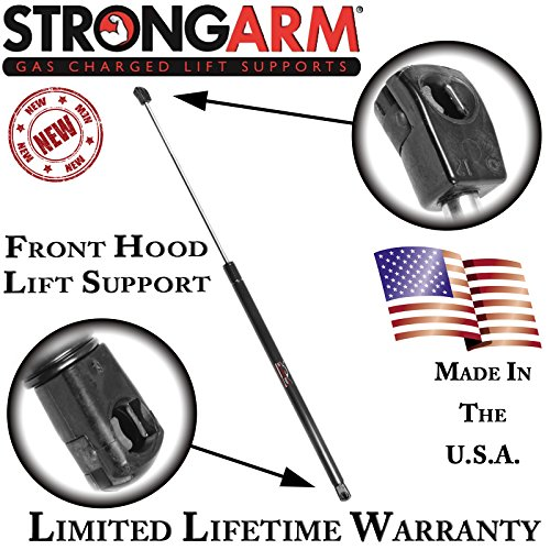 4 Door Hood - StrongArm 6444 Hood Lift Support for Audi A4 Quattro 4-Door Sedan