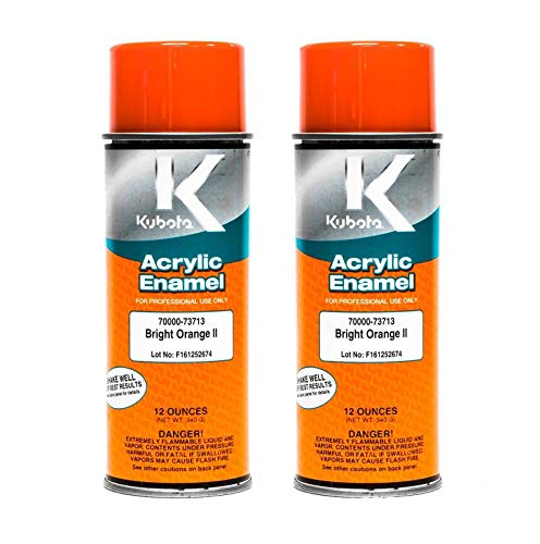 Kubota 2 PK Genuine OEM Orange Touch Up Paint 70000-73713 from Kubota