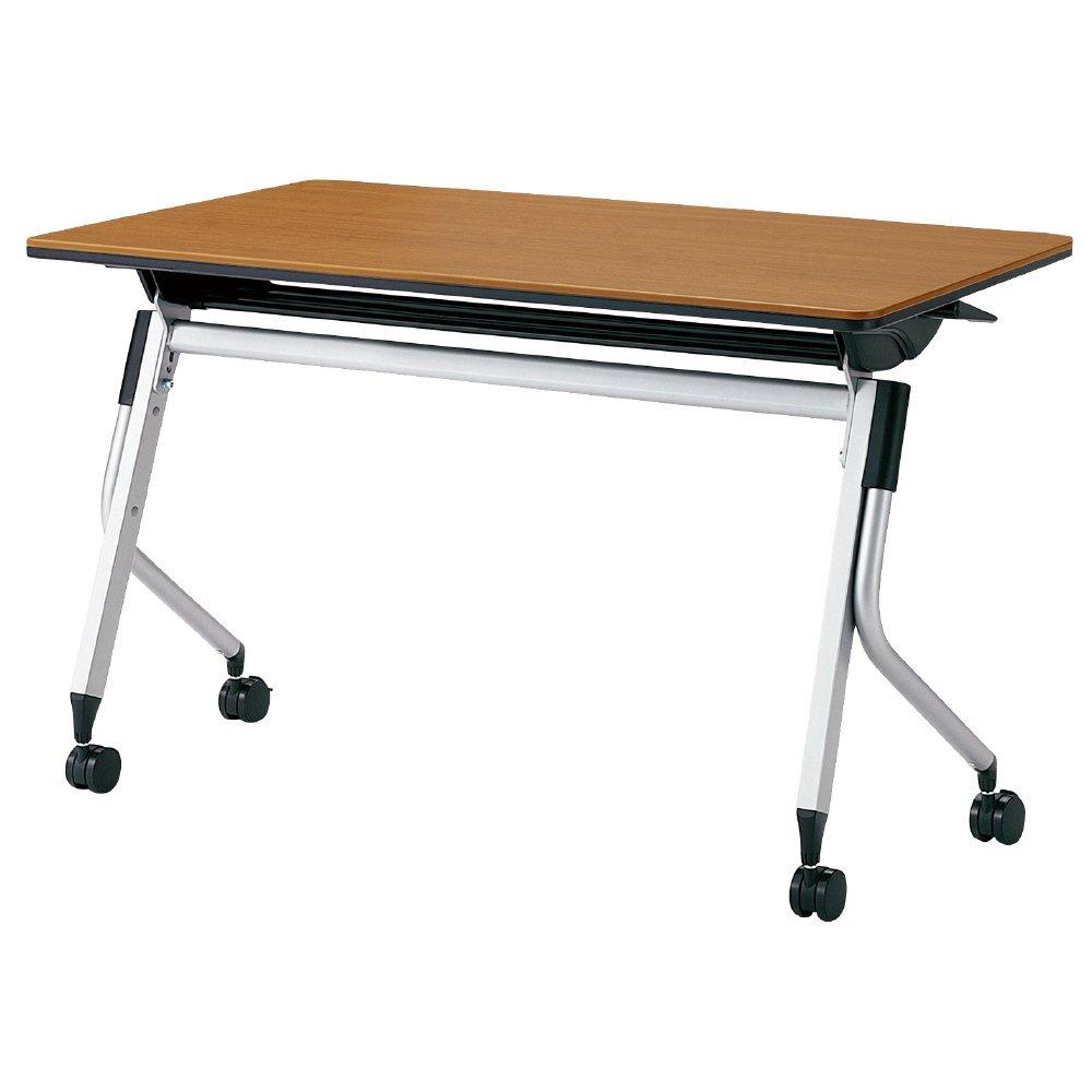 プラス Linello 2 フォールディングテーブル 高さ72cmタイプ 幕板なし LD-415 マホガニー 610390 B013JP89HI マホガニー|LD-415 610390 マホガニー