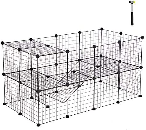 Etna Portable Foldable Pet Playpen for Dogs, Paw Print – Indoor and Outdoor Use – Pop-Up, Traveling, Kennel Design, Ideal for Keeping Pets Safe and Secure