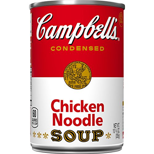 Campbell's Condensed Soup, Chicken Noodle, 10.75 Ounce (Pack of 48)