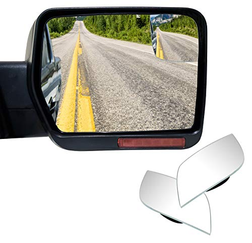 - VrooeCoe Custom Convex Blind Spot Mirrors for 2004-2010 Ford F-150 with Non-Towing Mirrors Pair