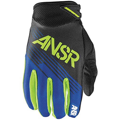 (Answer Racing Syncron Men's MotoX Motorcycle Gloves - Blue / 2X-Large)