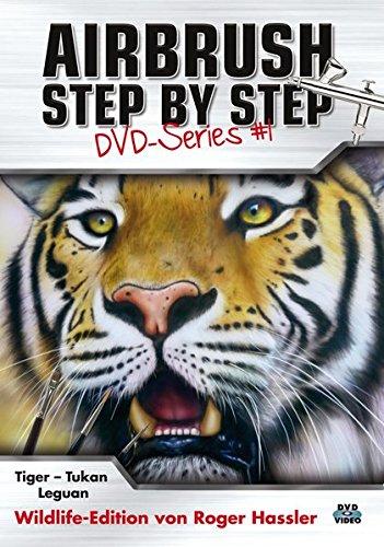 Airbrush Step by Step DVD-Series #1 (Airbrush Videos Dvd)