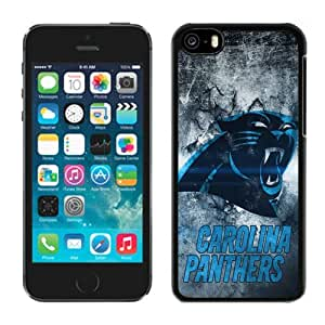 Athletics Iphone 5c Case NFL Carolina Panthers 27 Cellphone Hard Cases by Maris's Diary