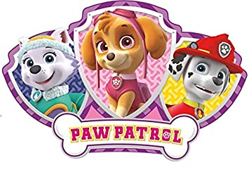 8 Inch Everest Skye Marshall Paw Patrol Girl Pup Wall Decal Sticker Pups Puppy Puppies Dog