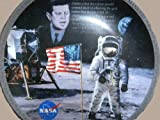 """Apollo 11 25th Anniversary """"The Eagle Has Landed"""" By Robert Schaar Collector Plate. First in the AMERICA'S TRIUMPH IN SPACE Series."""