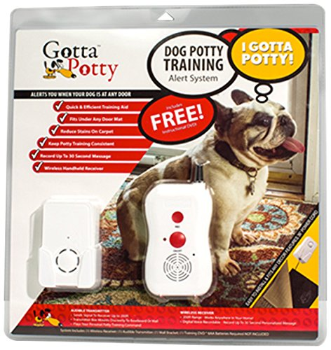 Gotta Potty Mat - Wireless Puppy Potty Training System - World's FIRST Wireless Training System! - Train Your Dog/Puppy the RIGHT Way! (Alarm Dog Rex)