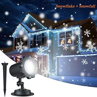 Proyector LED Exterior De Navidad para facade, iluminación de los ...