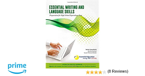Essential Writing and Language Skills, Preparation for High School ...