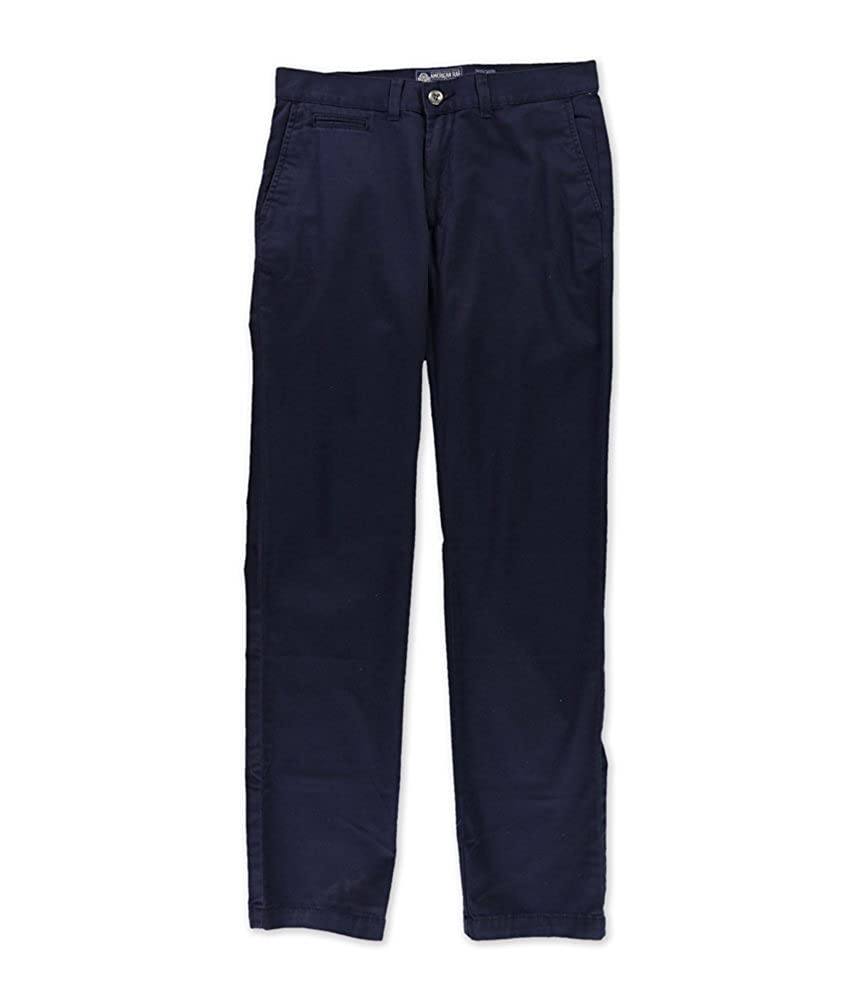American Rag Mens Slim Straight Solid Casual Chino Pants