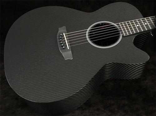 Graphite Acoustic Guitar - RainSong Hybrid Series H-WS1000N2 Deep Body cutaway acoustic electric with N2 neck