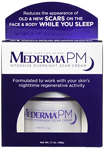 Mederma PM Intensive Overnight Scar Cream - Reduces the Appearance of Old & New Scars on the Face & Body While You Sleep… 2021 June This is a PM Intensive Overnight cream specialy formulated to remove scars Contents - Pack of 1 Capacity - 1.7 oz