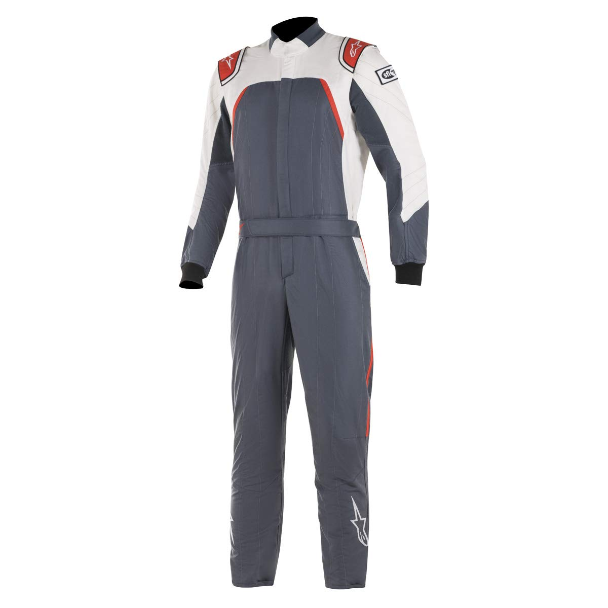 Alpinestars GP PRO COMP SUIT BOOTCUT ASPHALT WHITE RED 56