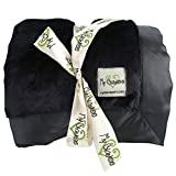 My Blankee Luxe Throw Blanket, Black, 52'' X 60''