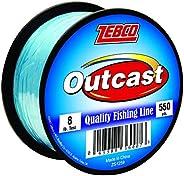 Zebco Outcast Mono 8LB 550 YD