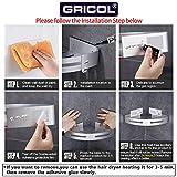 Gricol Bathroom Corner Shelf Shower Caddy 2 Pack