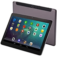 4G LTE 10 inches Tablet Phone 10 core Tablet Deca-Core Android 8.0 1920x1200 IPS Memory 6GB ROM 64GB 4G Double SIM Card Telephone Slice Bluetooth WiFi GPS Electronic 9 4G Network 10 (Black)