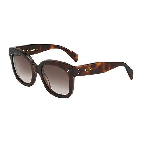 5b7619fdfa7 Celine 41805 S Sunglasses-005L Havana (HA Brown Gradient Lens)-54mm