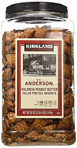 Kirkland Signature Peanut Butter Pretzel, 3 Packages (52 Ounce)