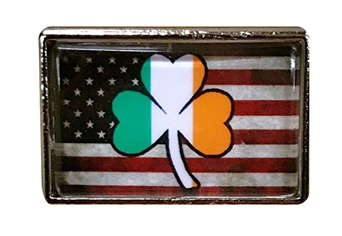 (Irish American Pride Lapel/Hat Pin or Tie Tac (25 Pack))