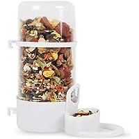 OTENGD Alimentador de hámster Dispositivo de alimentación automático Dispensador de Agua Comida Bebida para Hamster Pájaro Paloma Loros Mini Erizo Gerbil Cavy Animales pequeños