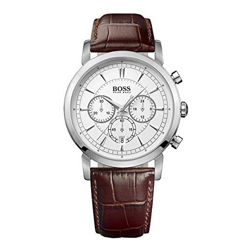 Hugo Boss Black Quartz Analog Brown Dial Men's Watch 1512871
