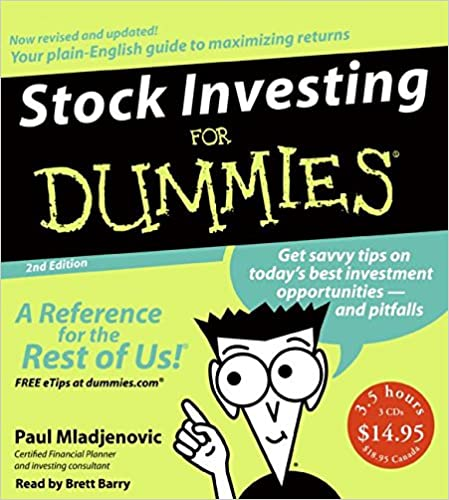 Stock investing for dummies 2nd ed cd paul mladjenovic brett stock investing for dummies 2nd ed cd abridged 2nd edition ccuart Image collections
