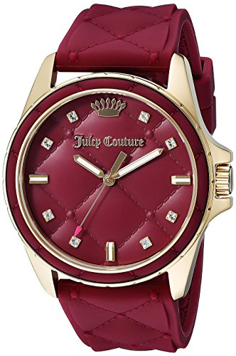Juicy Couture Women's 1901315 Malibu Red Watch