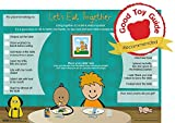 goodnight sleep tight chart - Children's Placemat - 'Let's Eat Together' Mealtime Activity Placemat - children learn table manners and fun play at the table games (3yrs+) by The Victoria Chart Company