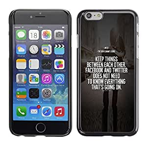 TaiTech / Hard Protective Case Cover - Inspiring Message Motivating - Apple iPhone 6 by ruishername