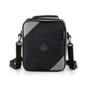 Citrinity Lunch Bag - Insulated Tote Bags for Women Kids and Men with Adjustable Shoulder Strap plus Recipe E-Book - Washable and Thermal - Maintains Food Fresh with More Room for Storage