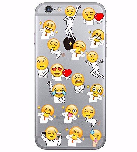 coque iphone 5 silicone emoji