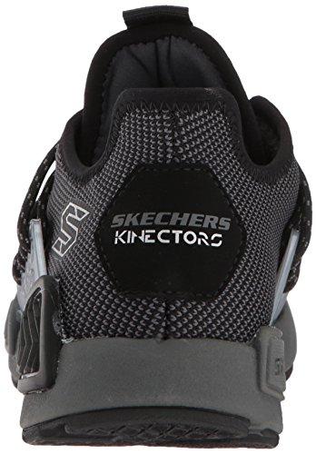Black Trainers Skechers Megahertz Up Boys Lace Sports charcoal Kinectors xOHPqUw0H7