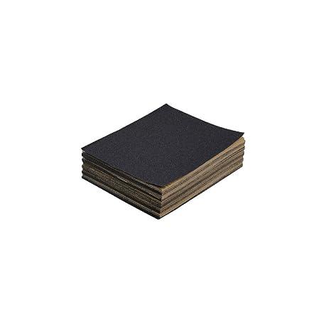 Schleifpapier P 80 wasserfest 10 St/ück 230 x 280 mm Nassschleifpapier