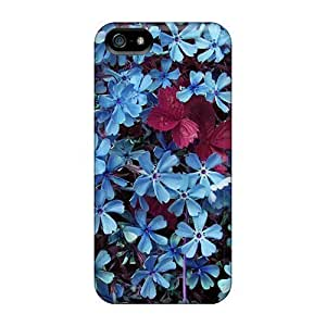 Brand New 4/4S Defender Case For Iphone (beautiful Blue Flowers)