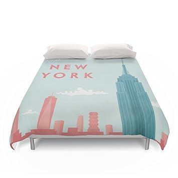 Amazoncom Society6 New York New York Duvet Covers Full 79 X 79