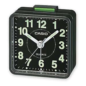 Casio TQ-140-1EF - Despertador (cuarzo, analógico): Amazon