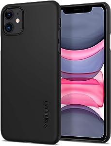 Spigen Thin Fit Designed for Apple iPhone 11 Case (2019) - Black