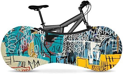 Nologo Cubierta de Rueda de Bicicleta Bicicleta Cubierta de Polvo Cubierta de la Serie Pintada de Alta Resistencia elástica Tela Bicicletas Carretera Cubierta Accesorios de la Bici ZHQHYQHHX: Amazon.es: Hogar
